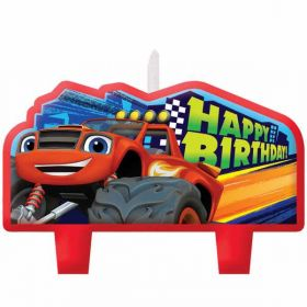 Blaze and the Monster Machines Happy Birthday Candles pk4