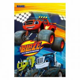 Blaze and the Monster Machines Party Bags pk8