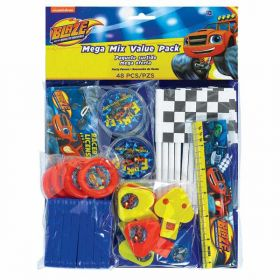 Blaze and the Monster Machines Mega Mix Value Favour Pack pk48