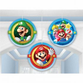Super Mario Honeycomb Decorations