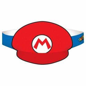 Super Mario Paper Hats pk8