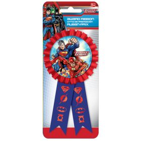 Justice League Confetti Award Ribbon