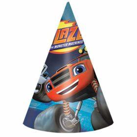 Blaze Cone Hats pk8