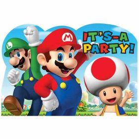 Super Mario Invites pk8