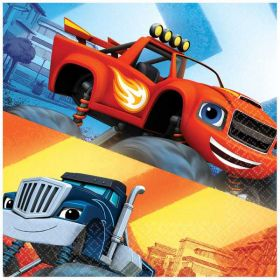 Blaze and the Monster Machines Luncheon Napkins pk16, 2ply