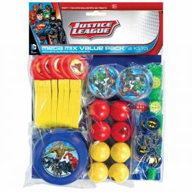 Justice League Mega Mix Value Favour Pack 48pcs