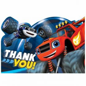 Blaze and the Monster Machines Thank You Postcards pk8