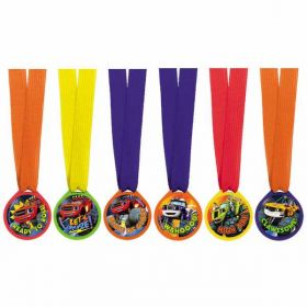 Blaze and the Monster Machines Award Medals pk12