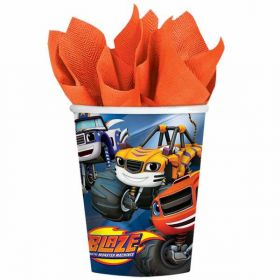 Blaze and the Monster Machines Party Paper Cups pk8
