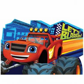 Blaze and the Monster Machines Postcard Party Invitations pk8
