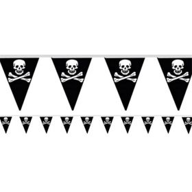 12ft Pirate Bunting, 11 flags