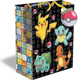 Pokemon Large Gift Bag