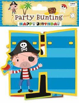 Junior Pirate Birthday Garland 2.1m