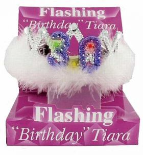 Flashing 30th Birthday Tiara