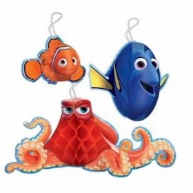 Finding Dory Honeycomb Hanging Decorations pk3
