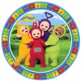 Teletubbies Paper Party Plates pk8 23cm