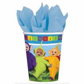 Teletubbies Paper Party Cups pk8