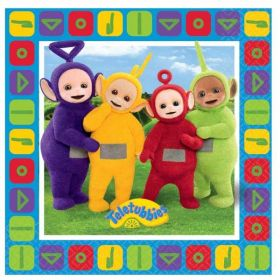 Teletubbies Paper Party Napkins pk16