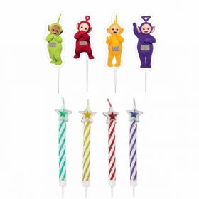 Teletubbies Pick Candles pk8