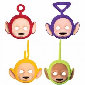 Teletubbies Card Face Masks pk4