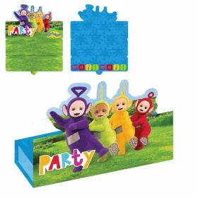 Teletubbies Stand-up Invitations & Envelopes pk8