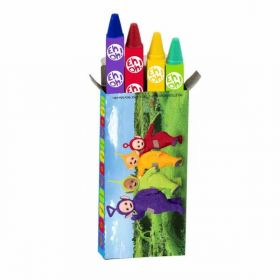 Teletubbies Box of Crayons pk4