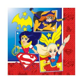 DC Super Hero Girl Napkins pk16