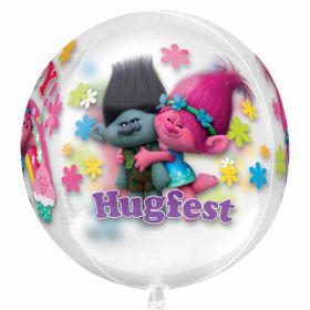 Trolls Orbz Clear Foil Balloon