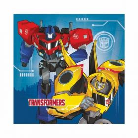 Transformers Robots in Disguise Napkins, pk20