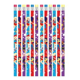 DC Super Hero Girls Pencils pk12
