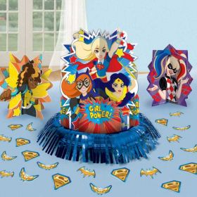 DC Super Hero Girls Table Decoration Kit
