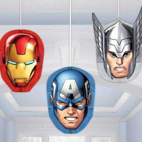 Avengers Honeycomb Party Decoration Kit pk3