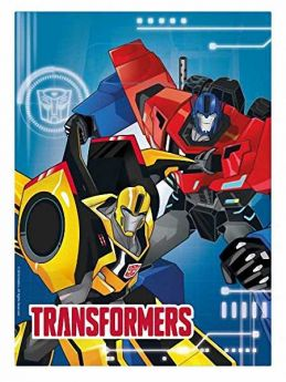 Transformers Robots in Disguise Party Bags pk8