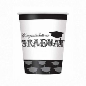 Simply Graduation Cups pk8
