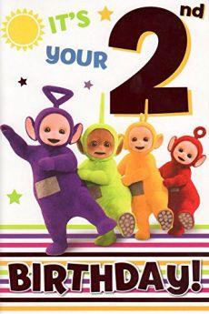 Teletubbies Age 2 Card