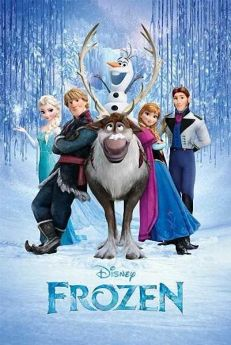 Frozen Cast Poster 36''