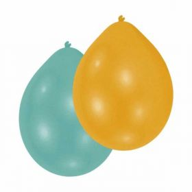 Assorted Pearl AirFill Quality Latex Balloons pk10