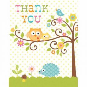 Baby Shower Thank's You Cards