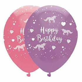 Unicorn Fantasy Party Balloons pk6
