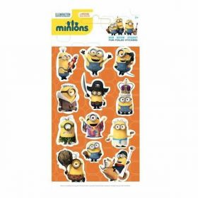 Minions Foiled Stickers no.1