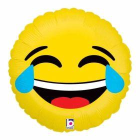 Emoji Lol Foil Balloon 18''