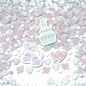 Simply Sparkling Wedding Table Confetti 14g