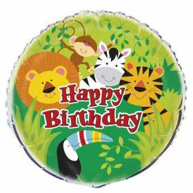Animal Jungle Foil Balloon