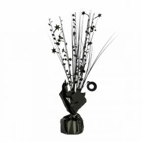 Black Spray Centrepiece Balloon Weight