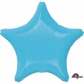Caribbean Blue Star Standard Foil Balloon