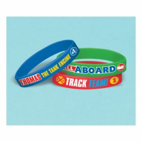 Thomas & Friends Rubber Bracelets pk6