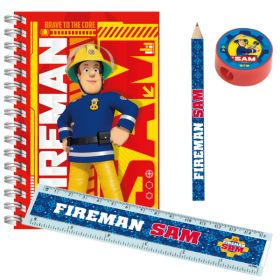 Fireman Sam Stationery Pack 20pc