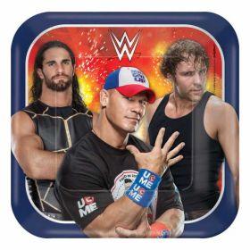 WWE Paper Plates 18cm pk8