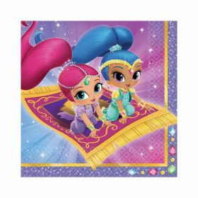 Shimmer & Shine Luncheon Napkins pk16