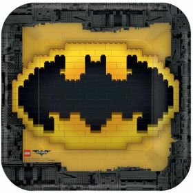 LEGO Batman Movie Paper Plates pk8 23cm